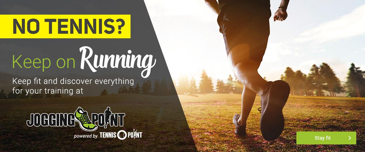 No Tennis? Keep Running!