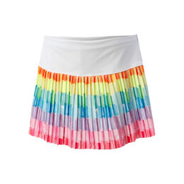 Patch Me Pleated Skirt
