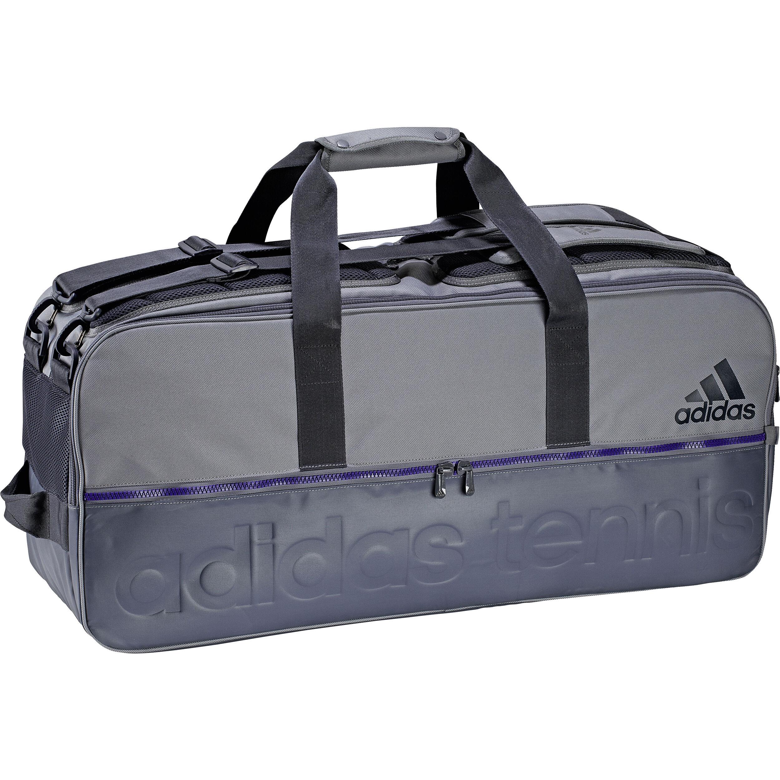adidas Tennis Bag Racket Bag Grey