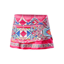 Pretty In Ink Ruche Skirt with Back Pocket