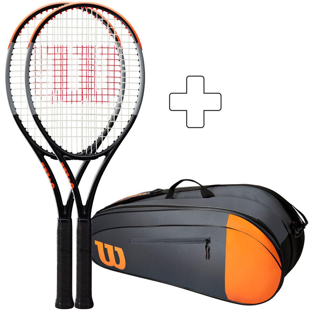 Wilson 2 X Burn 100 Plus Tennis Bag