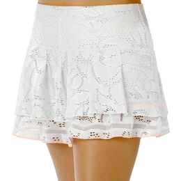 Long Lace Line Tier Skirt Women