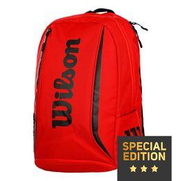 EMEA Reflective Backpack red/black