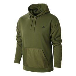 Sportswear Fabric Block Hoody