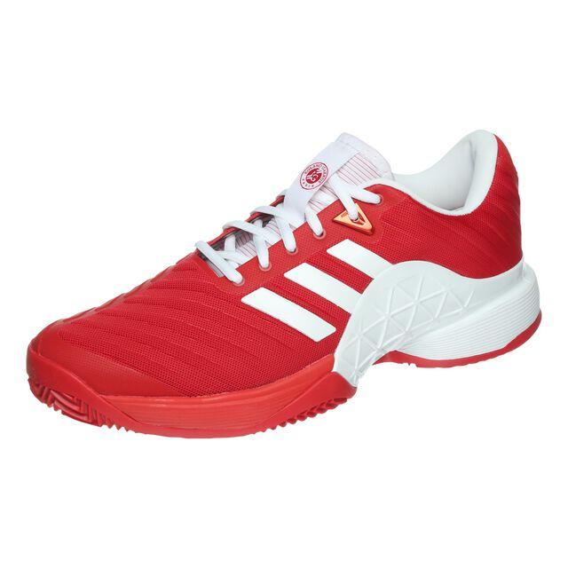 Sur Mediador Satisfacer  buy adidas Barricade 2018 Clay Court Shoe Men - Red, White online ...